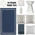 Uphold An Elegant Simple Style With This Timeless 7-Piece Contemporary Accessory Bundle Package