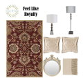Magnificent Posh Designs Transform Any Room W/This Opulent 7PC Traditional Accessory Bundle Package