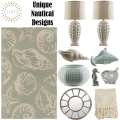 Capture That Coastal Style You Crave With This Nautical 10-PC Contemporary Accessory Bundle Package