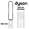 Dyson Bladeless Tower Fan Unit - Available In White/Silver