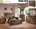 Slate & Oak Combine To Create This Warm Country Casual Design 6-Piece Bedroom Package