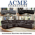 Plenty of Seating for Everyone; Featuring Leather-aire Sectional with Power Motion & USB Docks