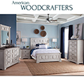 Warm Rustic Design Full over Full Bunkbeds Featuring Casual Living in a Driftwood Oak Finish