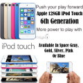 NEW Apple 128GB iPod Touch 6th Gen W/Face Time, Retina Display  & HD Video Recording