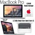 Apple 13.3� 128GB MacBook Pro 2.7GHz Intel Core i5 Aluminum Notebook With AppleCare Protection Plan