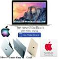 "Apple 12"" MacBook 1.1GHz Dual-Core Intel Core M Notebook With AppleCare 3YR Protection Plan"