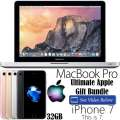 "Ultimate Apple Gift Bundle Featuring Apple 13.3"" MacBook Pro i5 Notebook & 32GB iPhone 7 *UNLOCKED*"