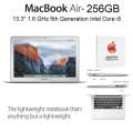 "Apple 13.3"" 128GB MacBook Air 1.6GHz Intel Core i5 Notebook Computer W/AppleCare 3YR Protection Plan"