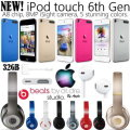 Put The World On Mute W/Apple 32GB iPod Tch 6thGen & Beats By Dr.Dre Studio Wrls Over-Ear Headphones