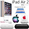 Change Is In The Air W/Apple 128GB iPad Air2, ProtectionPlan & BeatsByDr.Dre Pill Wireless Speaker