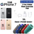 Apple 32GB iPhone 7 With JBL Charge 3 Portable Speaker-Includes 2 Year Warranty
