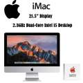 "Apple iMac 21.5"" 2.3GHz Intel Core i5 Desktop Computer with AppleCare"