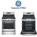 "GE 30"" Free Standing Gas Range-Available In Stainless Steel"