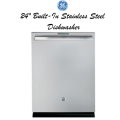 "GE Profile 24"" Built-In Dishwasher-Available In Stainless Steel"