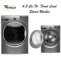 Whirlpool Duet 4.5 Cu. Ft. Front Load Steam Washer-Available In Chrome Shadow