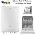 Whirlpool Built-In Dishwasher W/AccuSense Soil Sensor-Available In White Or Black