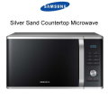 Samsung Silver Sand Countertop Microwave
