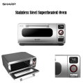 Sharp Stainless Steel Superheated Steam Countertop Oven