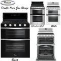 Whirlpool Double Oven Gas Range-Available in Stainless Steel, Black, Or White