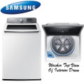 Samsung 5.0 Cu. Ft. Top Loading VRT Washer With Window - Available in White