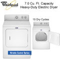 Maytag 7.0 Cu. Ft.Heavy Duty Electric Dryer- Available In White