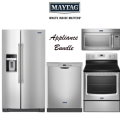 Maytag Kitchen Appliance Bundle with Electric Range - Available In Stainless Steel