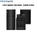 Frigidaire 3PC Appliance Value Bundle Featuring Refrigerator, Range, & Dishwasher-Available In Black