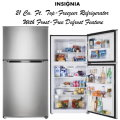 Insignia 21 Cu. Ft. Stainless Steel Top-Freezer Refrigerator With Frost-Free Defrost Feature