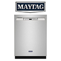 Maytag 22.1 Cu. Ft. Bottom- Freezer Refrigerator with Freshlock Crisper Drawers In Stainless Steel