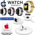 Apple 38mm Watch Series 2 In Various Colors, AppleCare+ Plan & Apple Watch Charging Dock