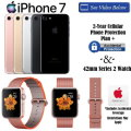 Apple 42mm Series 2 Rose Gold Watch With 128GB iPhone 7 , Includes AppleCare & 2 Year Warranty