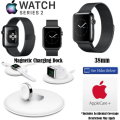 Apple 38mm Series 2 Watch Bundle With Charging Dock and AppleCare+ Protection
