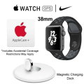 Apple 38mm Nike+ Watch & Magnetic Charging Station With Apple Care Warranty