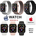 Apple 40mm Series 4 Sport Watch With GPS Bundled With AppleCare+ Protection Plan