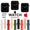 Apple 44mm Series 5 Aluminum Sport Watch With GPS Bundled With AppleCare+ Protection Plan
