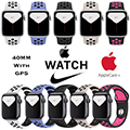 Apple 40mm Series 5 Aluminum Nike Sport Watch With GPS Bundled With AppleCare+ Protection Plan