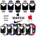 Apple 44mm Series 5 Aluminum Nike Sport Watch With GPS Bundled With AppleCare+ Protection Plan