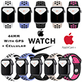 Apple 44mm Series 5 Aluminum Nike Sport Watch With GPS & Cellular Bundled With AppleCare+ Protection