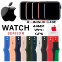 Apple 44mm Series 6 Aluminum Sport Watch With GPS Bundled With AppleCare+ Protection Plan