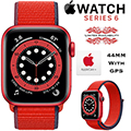 Apple 44mm Series 6 Aluminum Sport Loop Watch With GPS Bundled With AppleCare+ Protection Plan