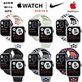 Apple 40mm Series 6 Aluminum Nike Sport Watch With GPS Bundled With AppleCare+ Protection Plan