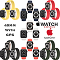 Apple 40mm Series 6 Aluminum Sport Solo Loop Watch With GPS Bundled With AppleCare+ Protection Plan