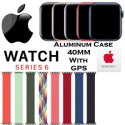 Apple 40mm Series 6 Aluminum Braided Solo Loop Watch With GPS Bundled With AppleCare+ Protection Pla