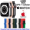 Apple 44mm Watch SE With GPS + Cellular & Sport Band Bundled With AppleCare+ Protection Plan