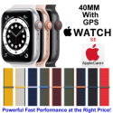 Apple 40mm Watch SE With GPS & Sport Loop Bundled With AppleCare+ Protection Plan