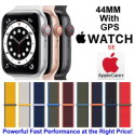 Apple 44mm Watch SE With GPS & Sport Loop Bundled With AppleCare+ Protection Plan