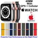 Apple 40mm Watch SE With GPS + Cellular & Sport Loop Bundled With AppleCare+ Protection Plan