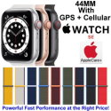 Apple 44mm Watch SE With GPS + Cellular & Sport Loop Bundled With AppleCare+ Protection Plan