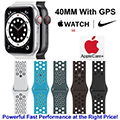Apple 40mm Watch Nike SE With GPS & Nike Sport Band Bundled With AppleCare+ Protection Plan