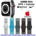 Apple 40mm Watch Nike SE With GPS + Cellular & Nike Sport Band Bundled W/ AppleCare+ Protection Plan
